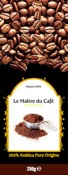 CAFÉ 100 % ARABICA EN GRAINS